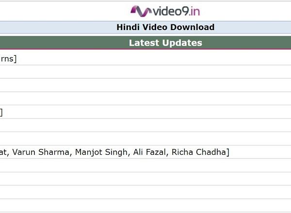 hindi video gane