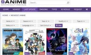 top anime sites