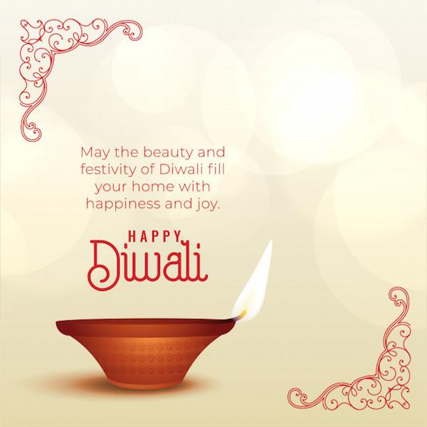 diwali fb status