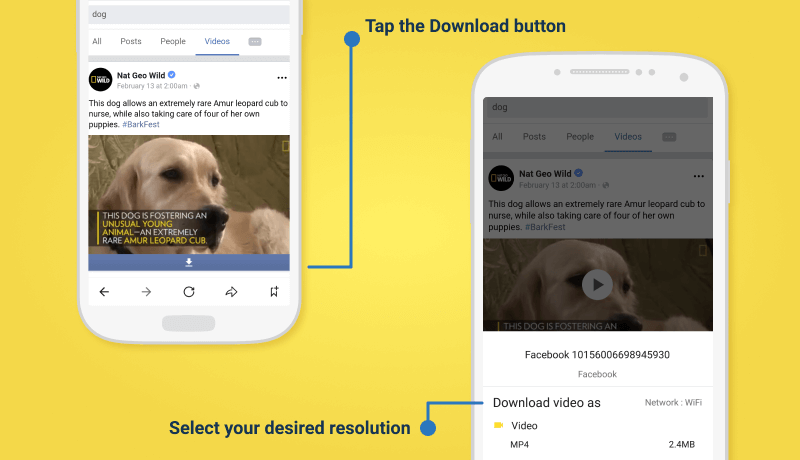 Download Facebook Videos For Free in HD Quality - Snaptube