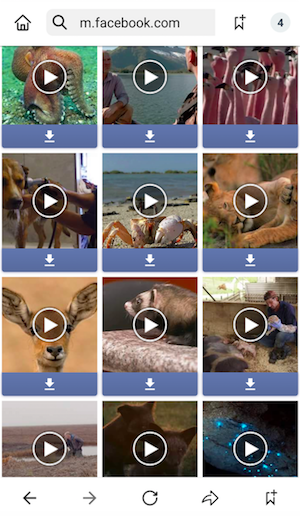 how to save a facebook video to your phone