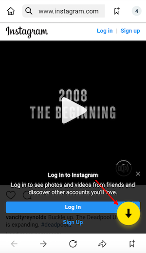 save instagram videos without url