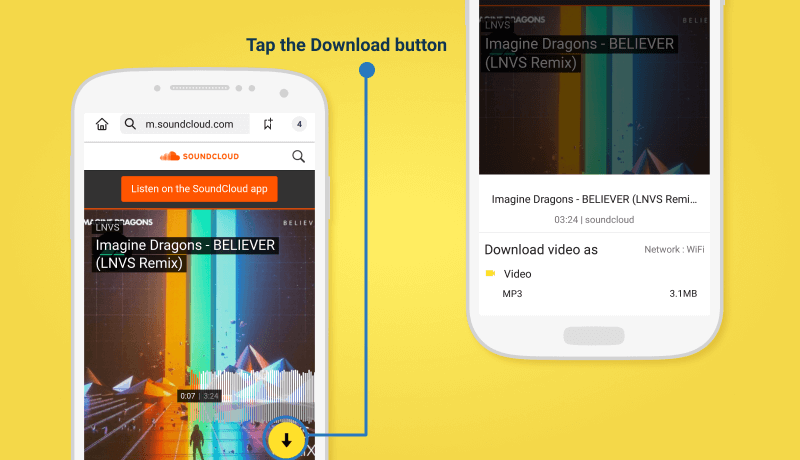 How to Download SoundCloud to MP3 Format for Free - Snaptube