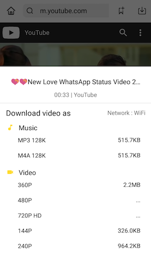 whatsapp status love video