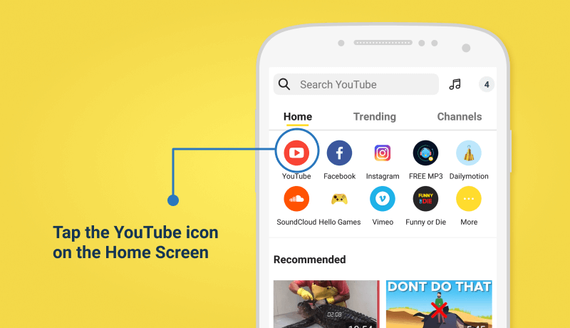 How to Download YouTube Videos Free and Fast - Snaptube