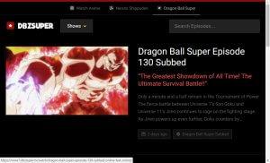 dragon ball super online stream