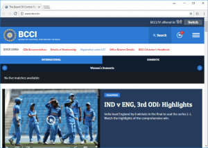 live icc cricket match