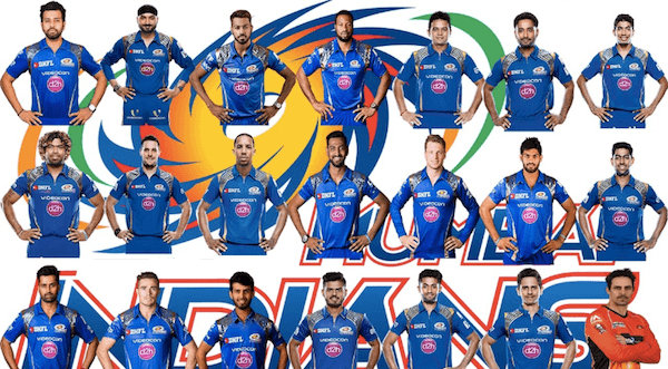 ipl 2018 mumbai players