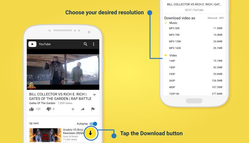 telecharger musique youtube sur iphone 6