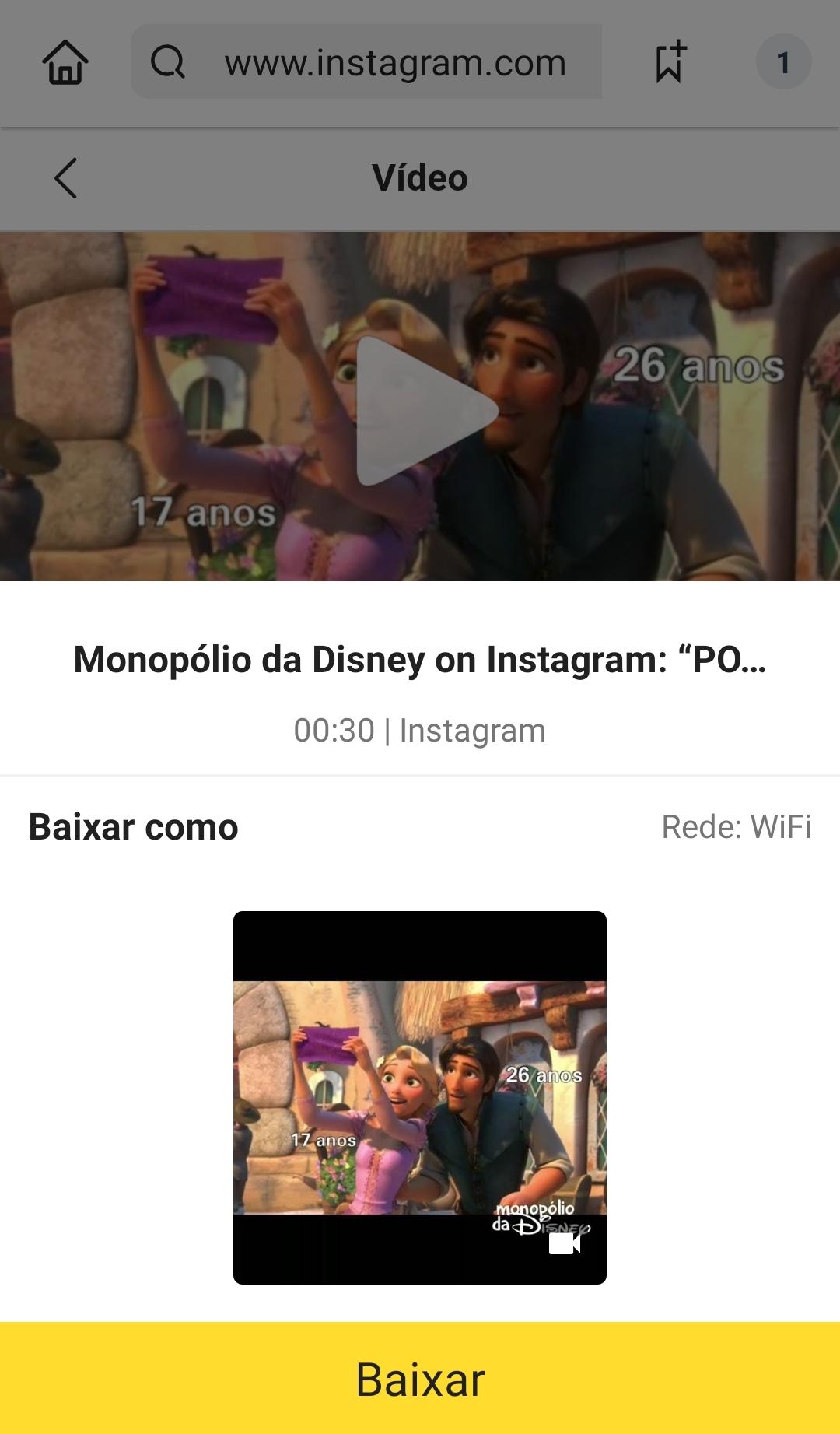 baixar video instagram mp3