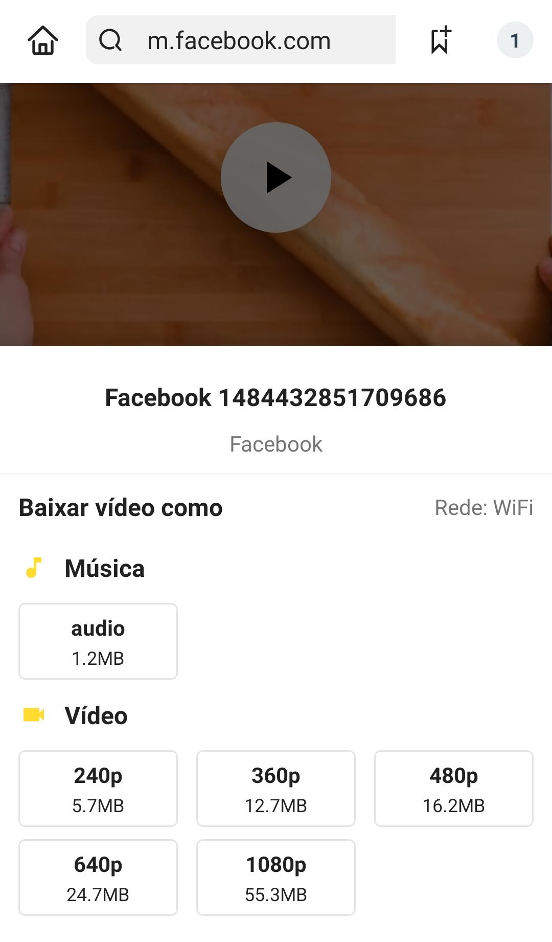 aplicativo para baixar vídeo no facebook