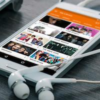 Descarga música mp3 para Samsung