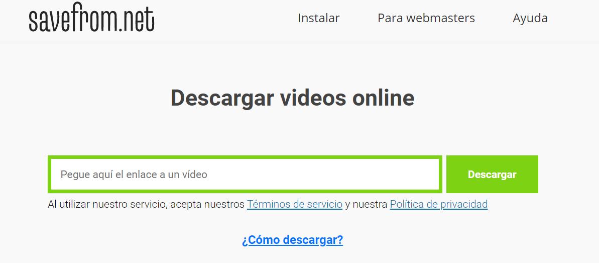 app para descargar videos tik tok