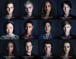 por 13 razones personajes