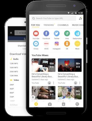 تطبيق لتحميل الفيديو مجانا للأندرويد