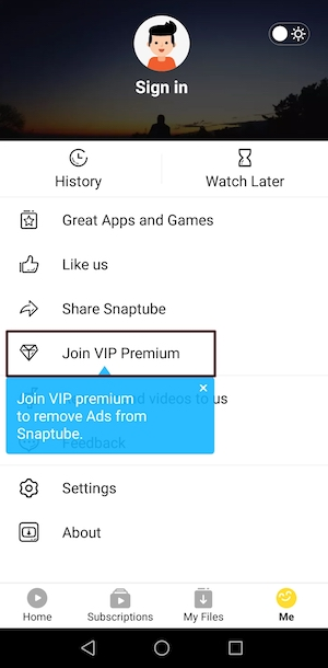 Snaptube VIP Membership Giveaway (20 VIP Accounts Up for Grabs!)