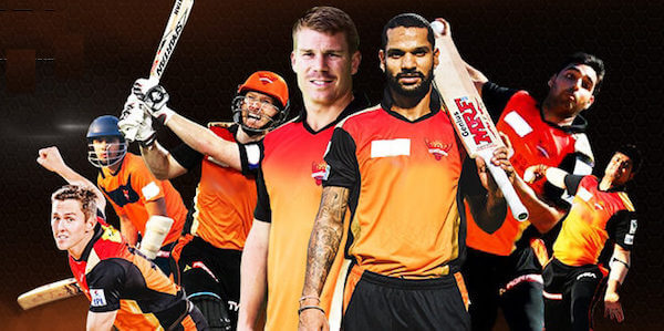 sunrisers hyderabad team-2018